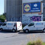 Instalace reklamy Praha - zajištění místa
